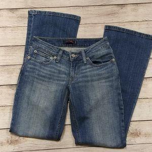 Levi's 528 Curvy Fit Blue Jeans Short